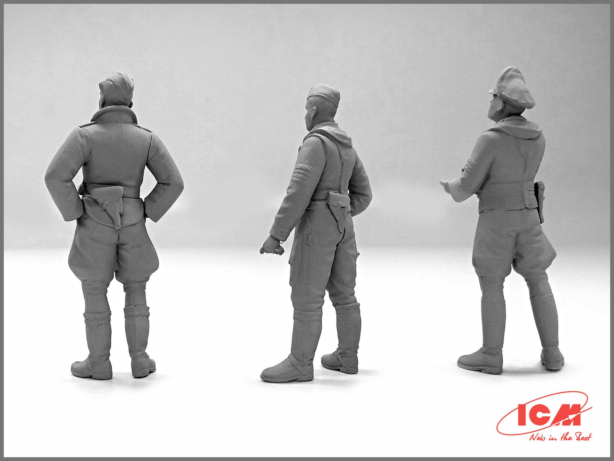 32101_German-Luftwaffe-Pilots-(1939-1945)_Master_Models_ICM_1