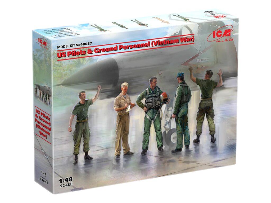 48087 us pilots ground personnel vietnam war box 1