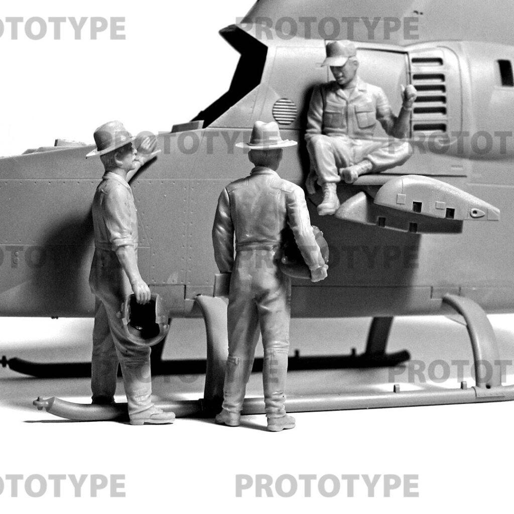 32114 us helicopter pilots vietnam war icm master models 3 1