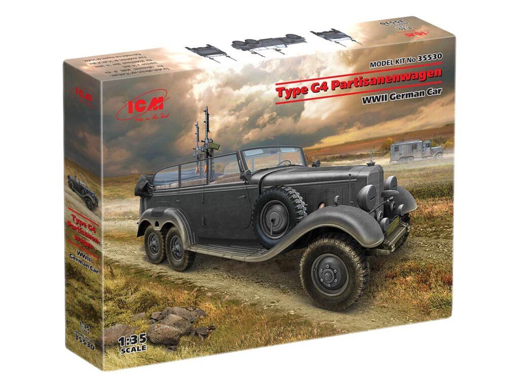 box 35530 type g4 partisanenwagen icm 1
