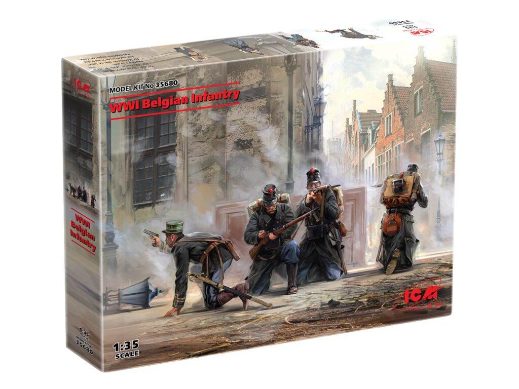 box 35680 wwi belgian infantry icm 1