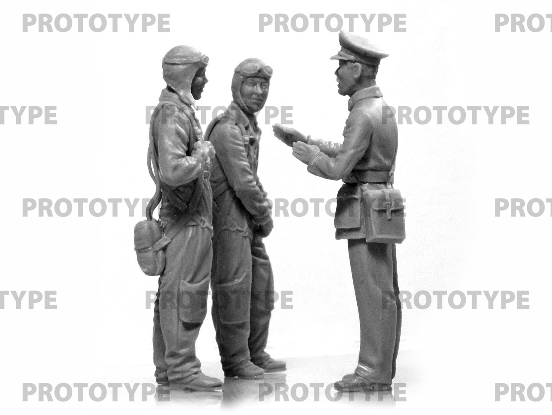 32115_WWII China Guomindang AF Pilots_master_models_ICM (8)