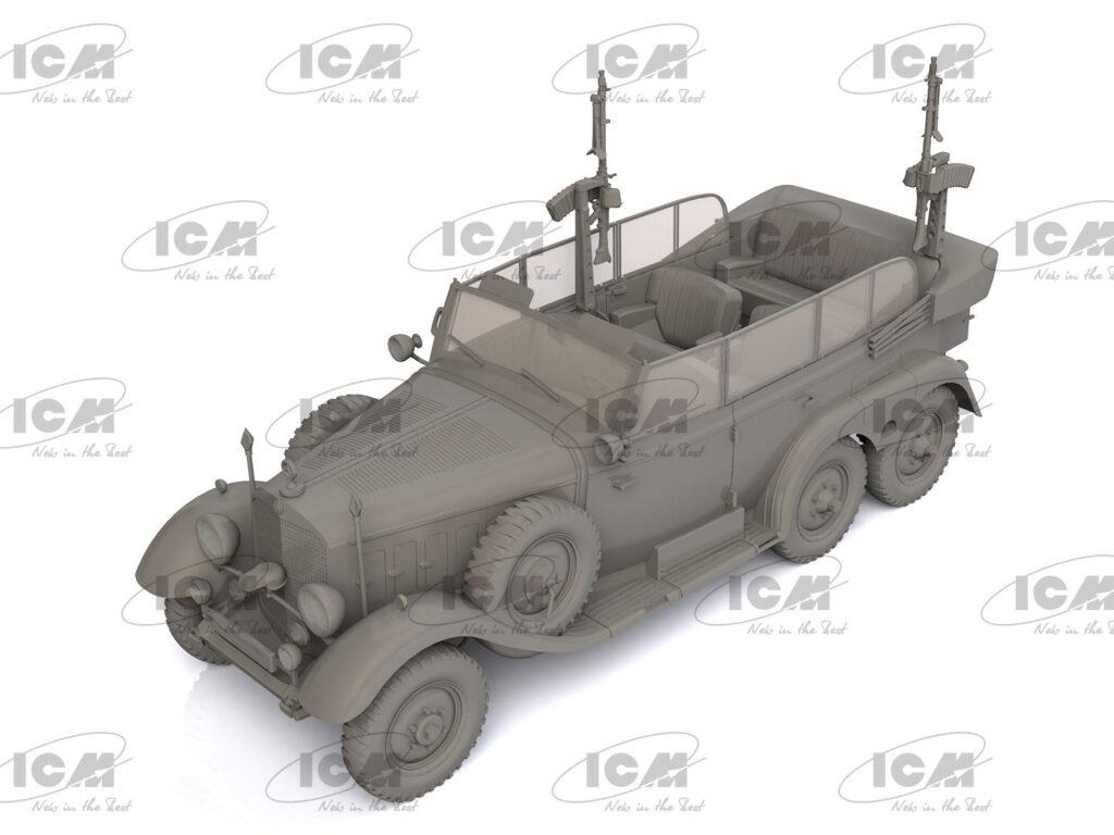 35530 type g4 kfz.21 partisanenwagen renders icm 3